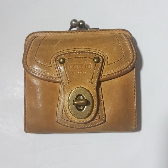Coach Leather Wallet.